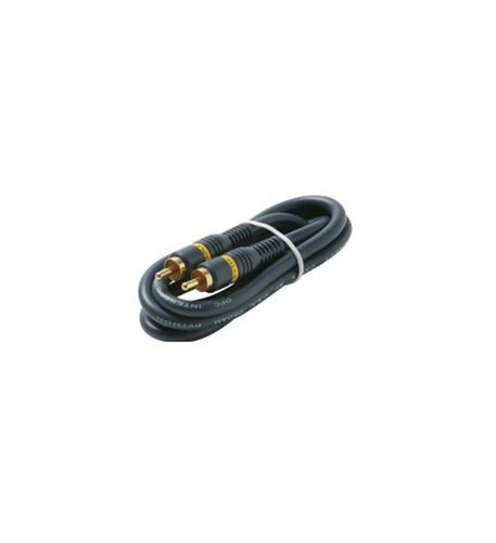 Steren 3' rca-rca plug python gold