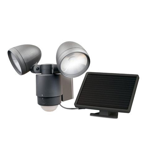 Dual-Head Solar Spotlight - BRONZE
