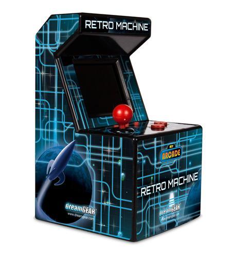 dreamgear my arcade retro machine w/200 games