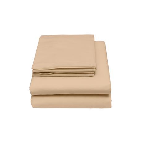 bamboo origins 4pc full sheet set in beige
