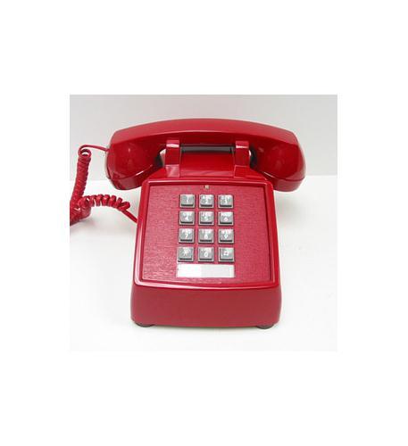 cortelco 250047-vba-20md desk valueline red