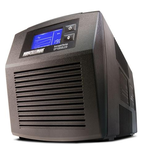 minuteman ups entrepid battery backup 1000va 600w