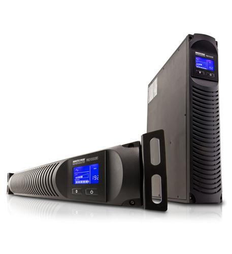 minuteman ups pro-rt series wall/rack ups 1000va/700w