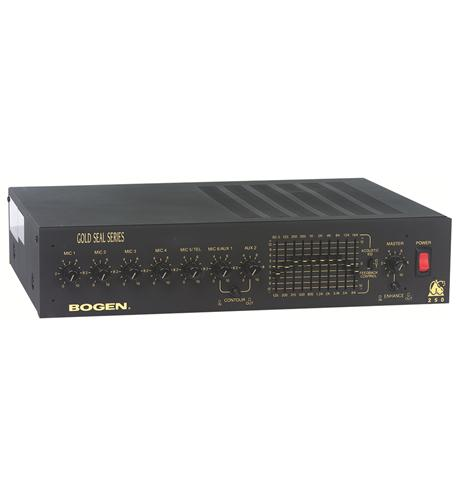 Bogen 35 watt dual eq amplifier