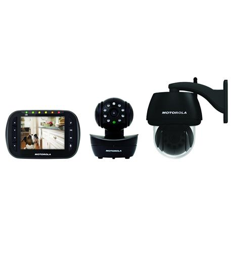 binatone/ motorola 3.5 video monitor with outdoor camera