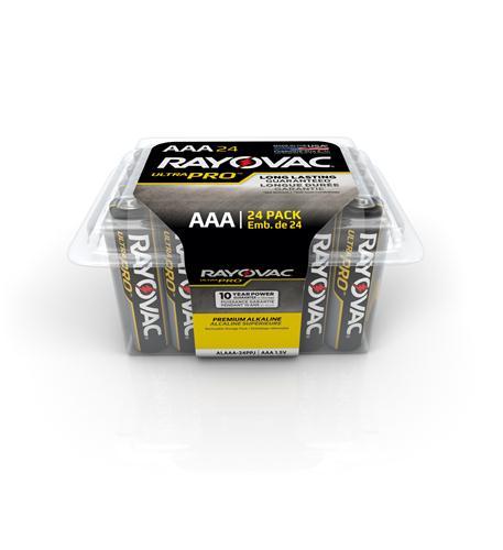 rayovac alkaline reclosable aaa 24 pack