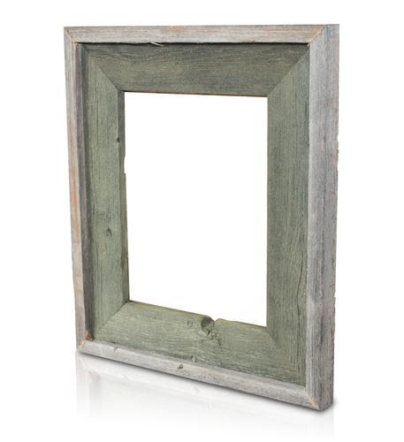 recherche furnishings 5x7 reclaimed wood frame alligator grn