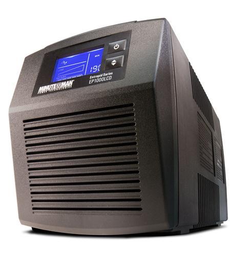 minuteman ups entrepid battery backup 500va 300w
