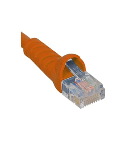 icc patch cord, cat 5e, molded boot, 1' or