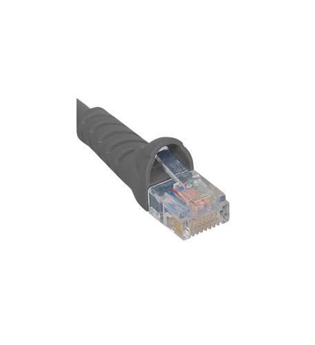 icc patch cord, cat 5e, molded boot, 5' gy