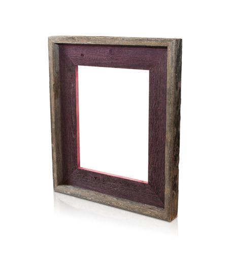 recherche furnishings 5x7 reclaimed wood frame cherry
