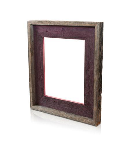 recherche furnishings 8x10 reclaimed wood frame cherry
