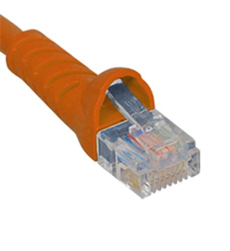 icc patch cord, cat 6, molded boot, 3' or