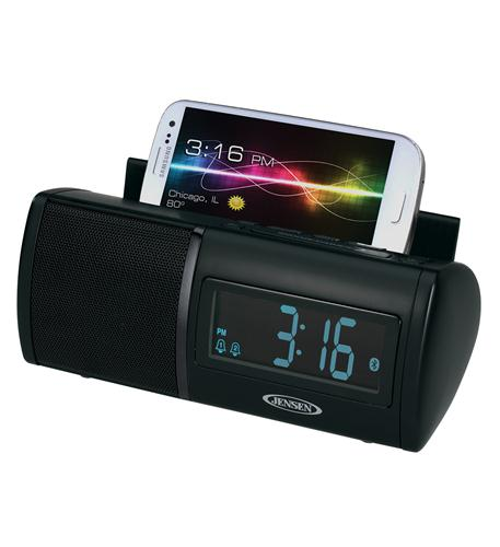 jensen universal bluetooth clock radio