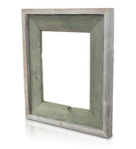 recherche furnishings 8x10 reclaimed wood frame ag green