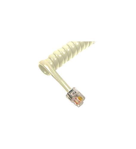 cablesys gcha444012-fla / 12' lt ash handset cord