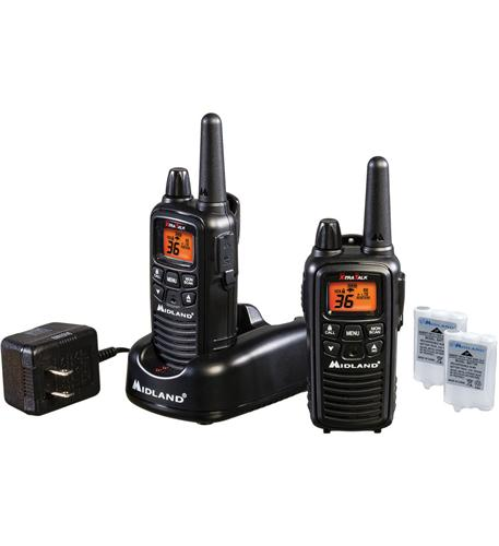 midland radio gmrs 2-way radio (up to 30 miles)