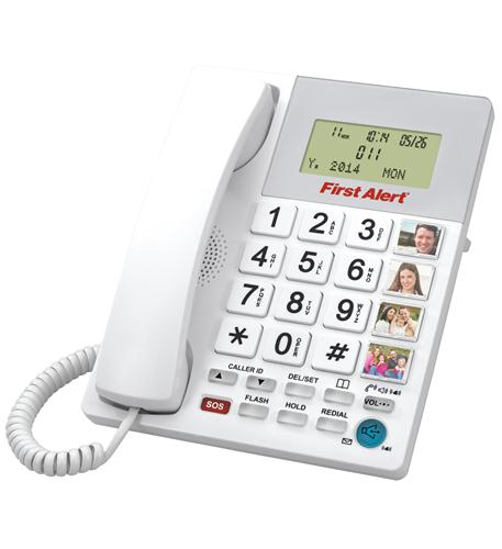 First Alert - Big Button Telephone with Emergency Buttons