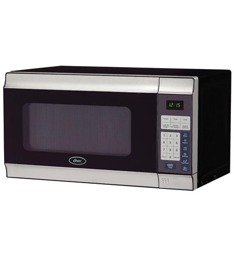 oster 0.7 cu ft microwave -700watts stainless
