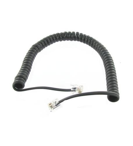 Steren 7' black handset cord
