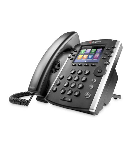 polycom, inc. vvx 400 ip business phone with ac power