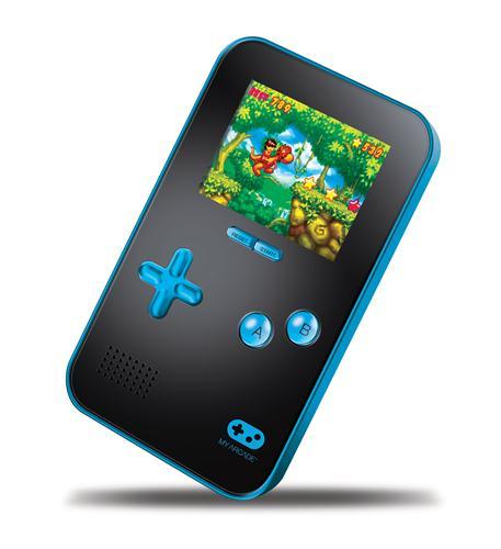 dreamgear my arcade go gamer portable - blue/black