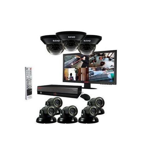 revo 16 ch 3tb system w/ 8 700tvl cameras & 2