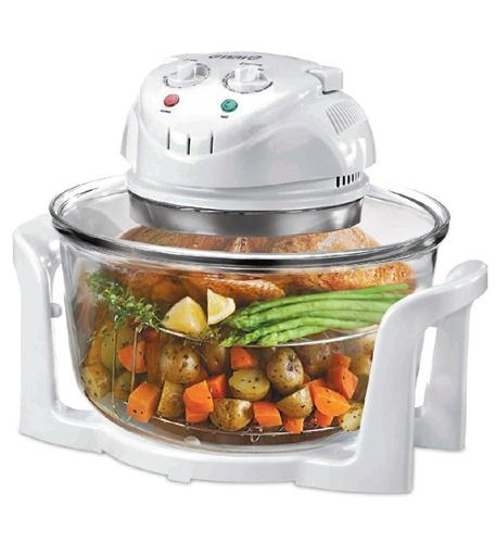 magic chef glass bowl convection oven