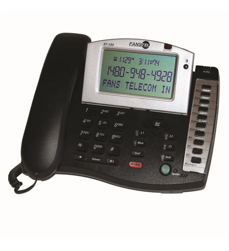 fans-tel 2-line amplified speakerphone