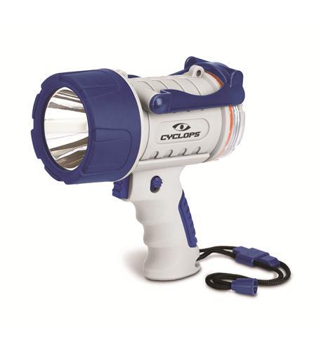 cyclops 300 lumen marine rechargeable spotlight