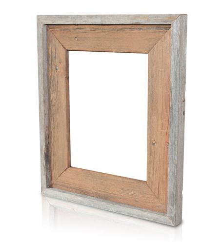 recherche furnishings 5x7 reclaimed wood frame rusty nail