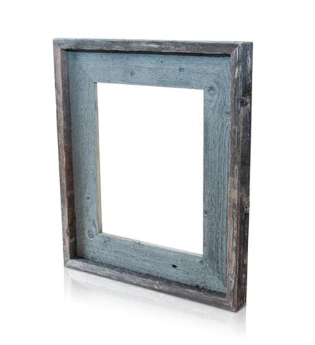 recherche furnishings 8x10 reclaimed wood frame river