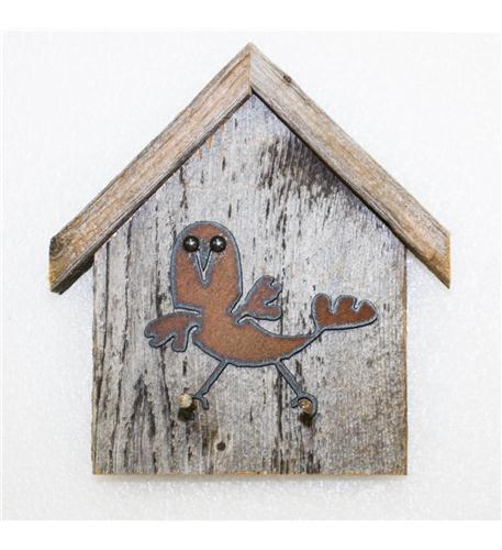 recherche furnishings birdhouse and key holder, wacky-bird