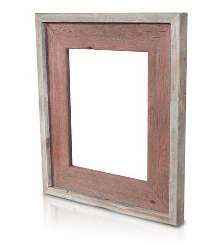 recherche furnishings 8x10 reclaimed wood frame rusty nail