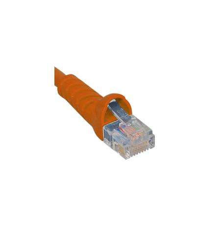 icc patch cord, cat 6, boot, 1' or