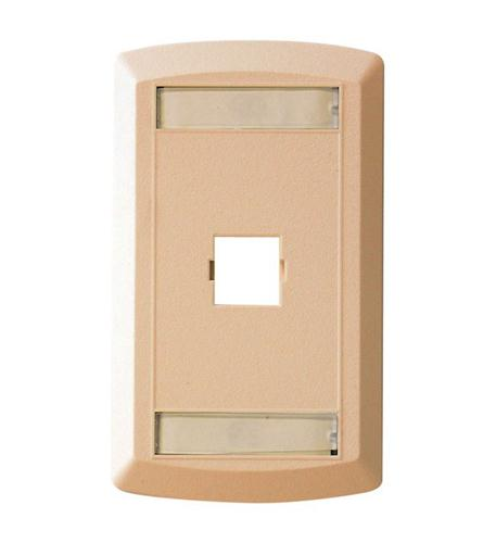 suttle 1 suttle single outlet face - ivory