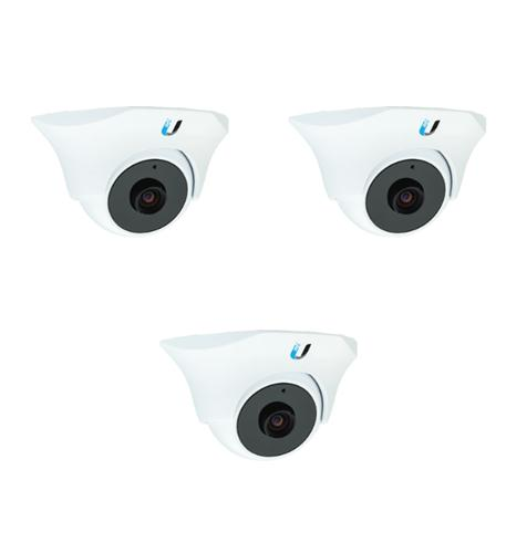 ubiquiti unifi video camera,dome,ir 3 pack