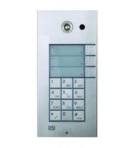 2N helios ip 1 button + keypad + camera