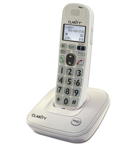 clarity 53704.000 40db amplified cordless