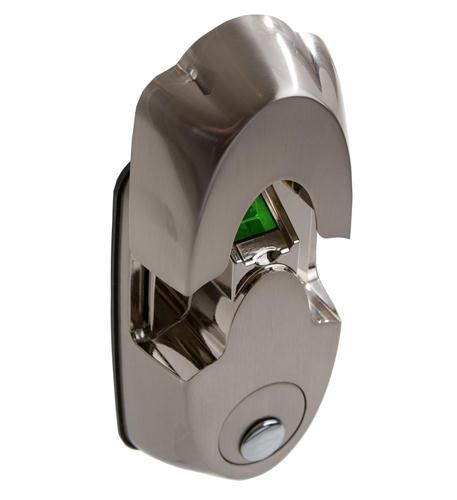actuator systems nextbolt secure mount - satin nickel