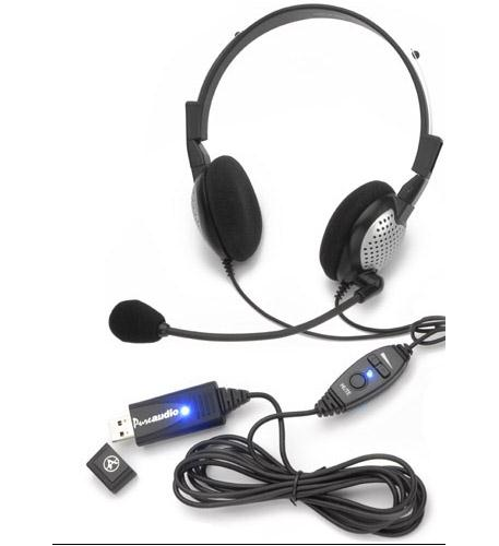 andrea communications high quality digital stereo usb headset