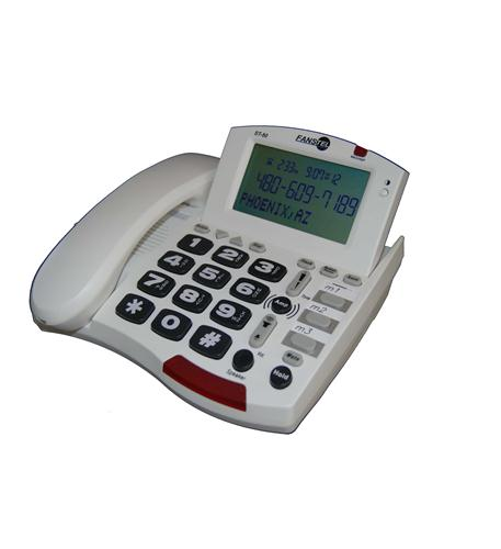 fans-tel 50db amp speakerphone white