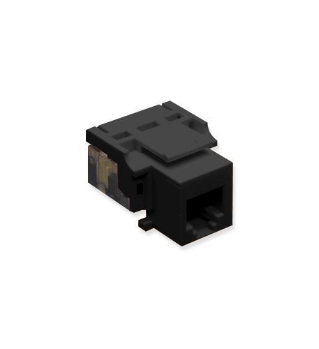 BSSN IC1076V0BK - Cat3 Jck 6Con. BLACK - 5 pieces at Sears.com
