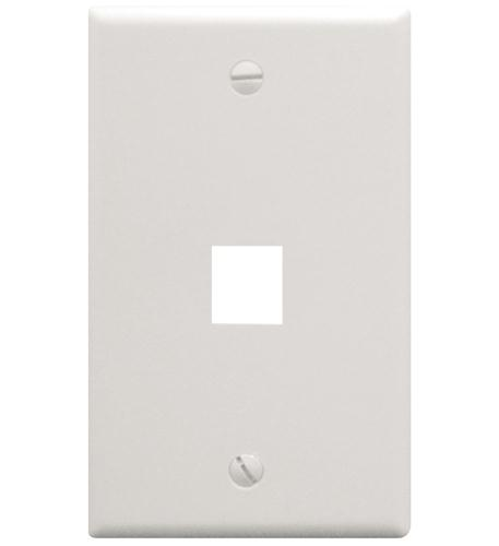 icc ic107f01wh - 1port face white