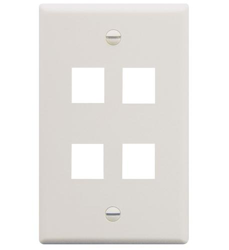 icc ic107f04wh - 4port face white