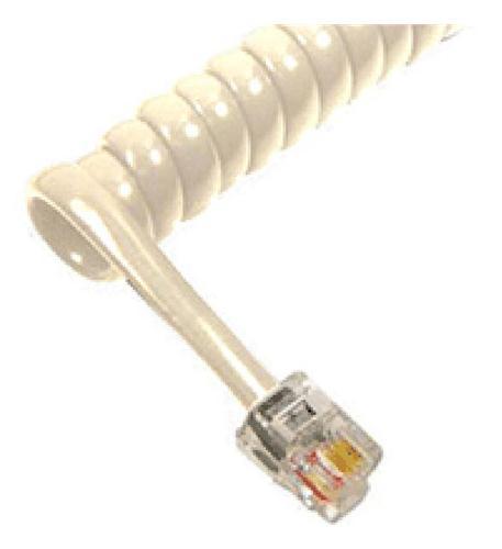 cablesys ichc412fmc /12' misty cream handset cord