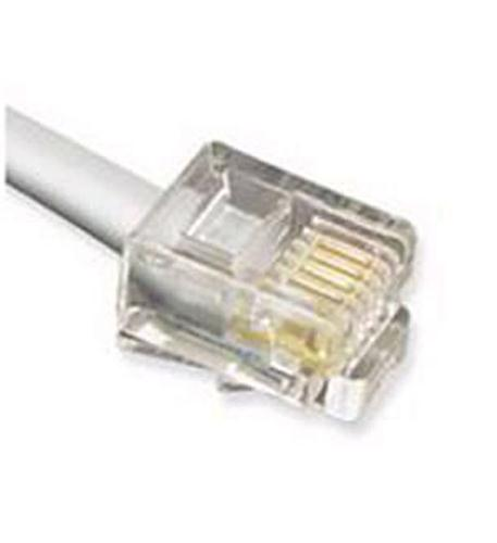 cablesys gclc666050  50' flat line cord - silver
