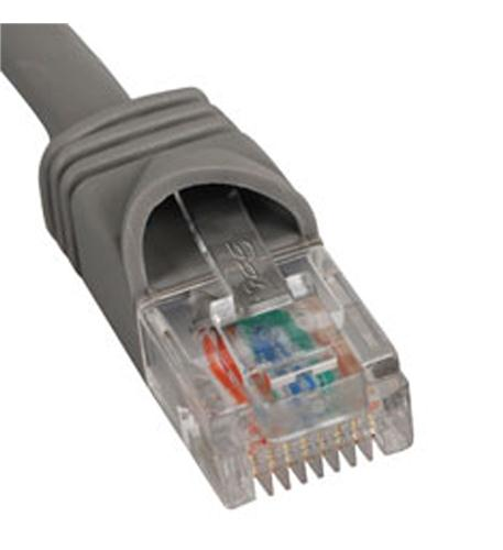 icc patch cord, cat 5e, molded boot, 3' gy