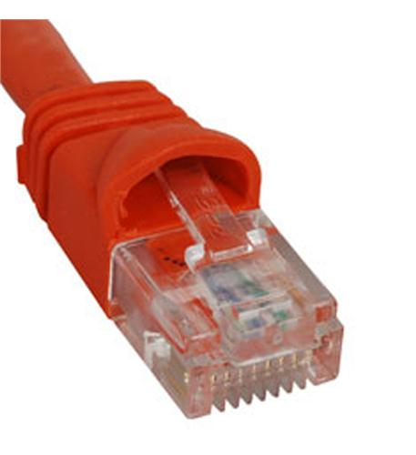 icc patch cord, cat 5e, molded boot, 3' or