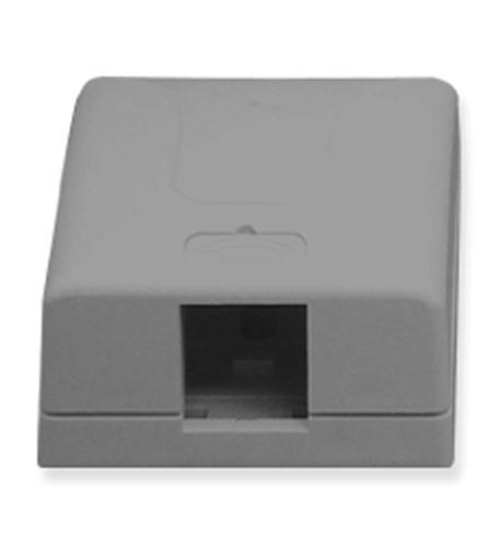 icc ic107sb1gy - surface box 1pt gray